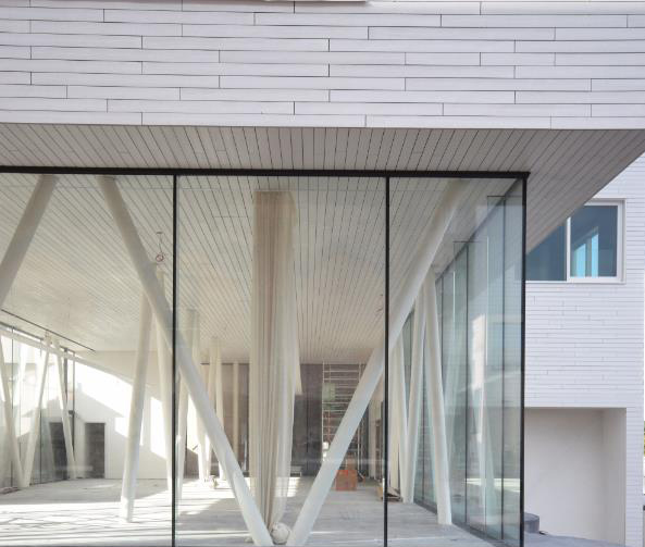 kantoorruimte witte silo's w- Eskra Bouw BV