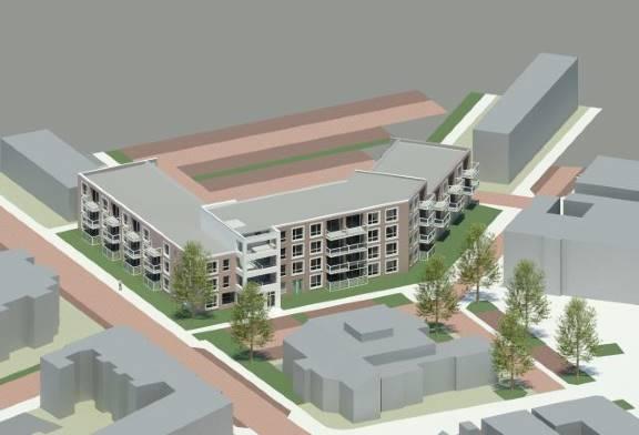 Nieuwbouw Vogelplein Dordrecht - Eskra Bouw B.V. gevelbekleding Eternit