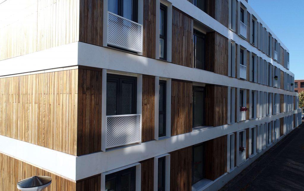 Project Wijburg Amsterdam zijaanzicht